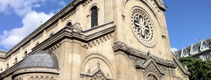 Église Notre-Dame-des-Champs is one of Paris.