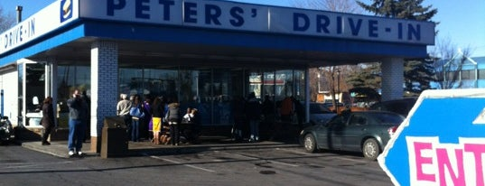 Peters' Drive-In is one of Calgary.