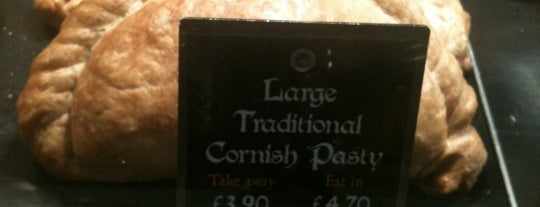 West Cornwall Pasty Co is one of Richmond Good Food Guide.