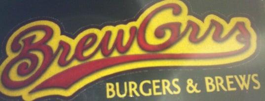 BrewGrrs Burgers & Brews is one of todo.beerspots.