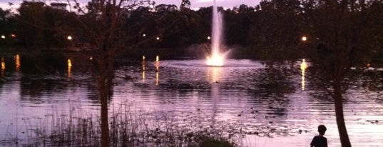 Lake Lily Park is one of Orlando City Badge - The City Beautiful.