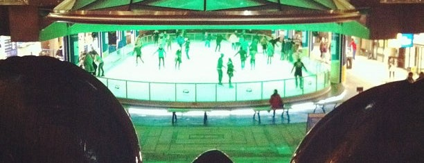 Robson Square Ice Rink is one of Canada.