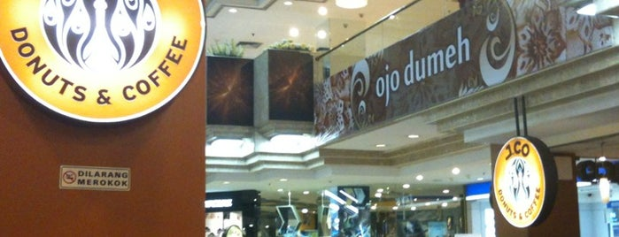 J.Co Donuts & Coffee is one of Surabaya's Best Culinary Spots.