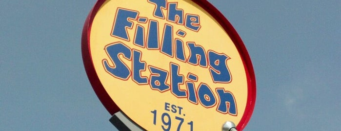 The Filling Station is one of Quad cities, Iowa.