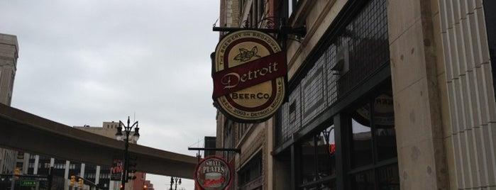 Detroit Beer Company is one of Must Visit Nightlife Spots in Detroit.