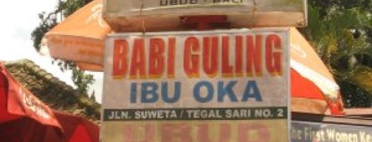 Babi Guling Ibu Oka 1 is one of Must-visit Food in Bali.