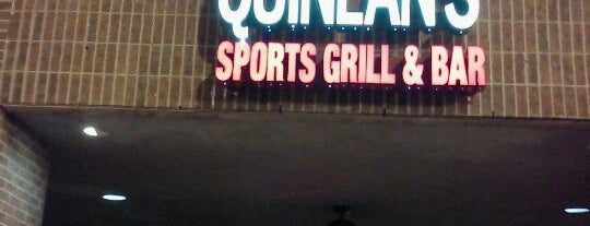 Quinlan's Sports Grill & Bar is one of Misty's Liked Places.
