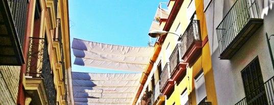 Barrio Santa Cruz is one of Sevilla travel tips.