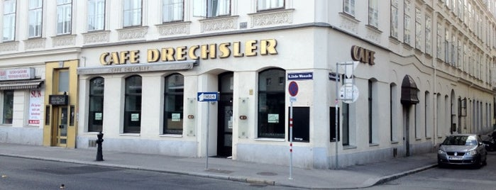 Café Drechsler is one of freihausviertel, best of a decade..