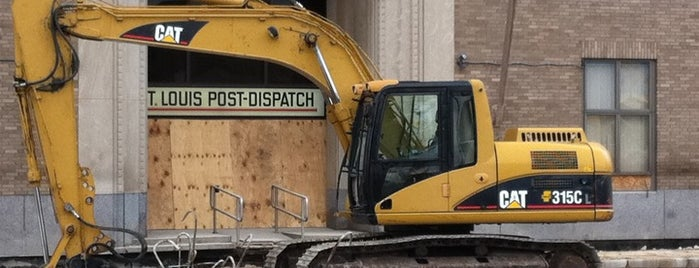 St. Louis Post-Dispatch is one of SND STL Locations & Tips.