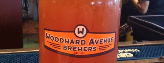 Woodward Avenue Brewers is one of Breweries to Visit.