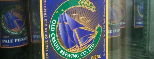 Old Credit Brewing Co Ltd is one of Ontario Craft Brewers.