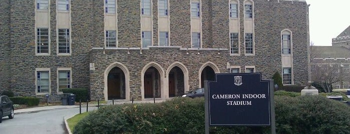 Cameron Indoor Stadium is one of Basketball Arenas.