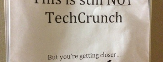 TechCrunch HQ is one of Tech Startups.