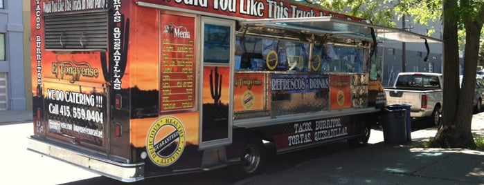 El Tonayense Taco Truck is one of SF Welcomes You.