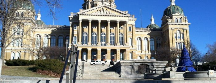 Iowa State Capitol is one of #visitUS in Des Moines, IA..