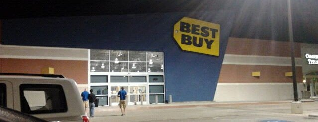 Best Buy is one of North Texas favs.