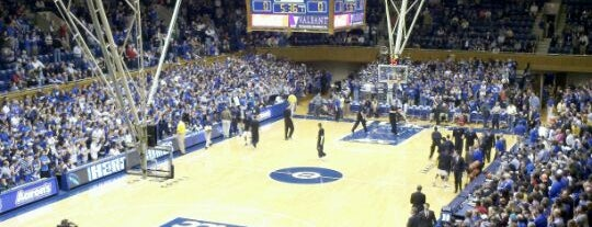 Cameron Indoor Stadium is one of Great Sport Locations Across United States.