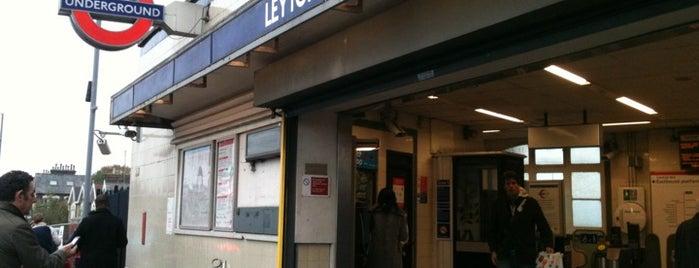 Leyton London Underground Station is one of Underground Stations in London.