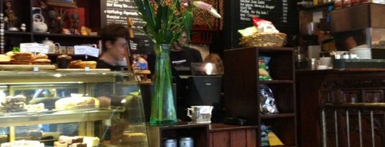 Sacred Café is one of Specialty Coffee Shops Part 2 (London).