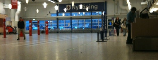 Stockholm-Skavsta Airport (NYO) is one of Airports I've been to.