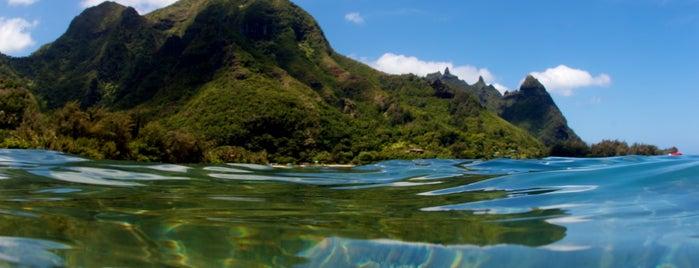Tunnels Beach is one of Kaua'i, HI.