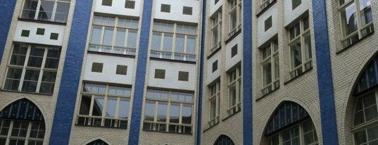 Die Hackeschen Höfe is one of Places in Berlin.