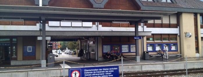 Bahnhof Sarnen is one of Aus, Bel, Fra, Ger, Ita & Swi.