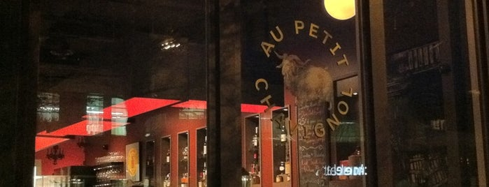 Au Petit Chavignol is one of Favourite restaurants.