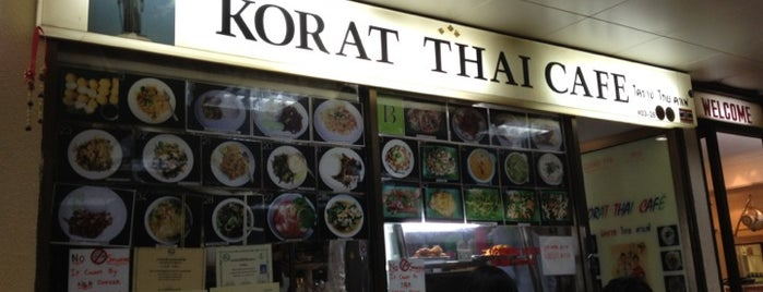 Korat Thai Cafe is one of Singapore Late Night.