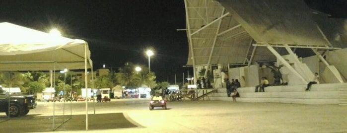 Parque de las Palapas is one of Cancun Downtown.