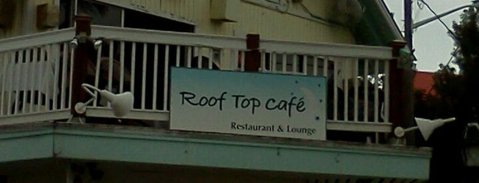 Roof Top Cafe is one of Tempat yang Disukai 💫Coco.