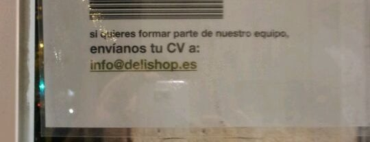 Delishop Eixample is one of Ofertas de Trabajo Comercios Barcelona.
