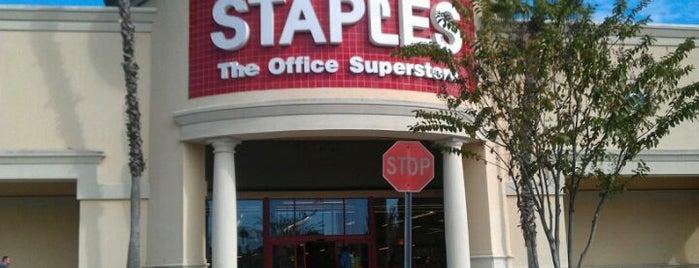 Staples is one of Orlando.
