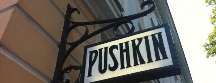 A. Pushkin is one of สถานที่ที่บันทึกไว้ของ Helene.