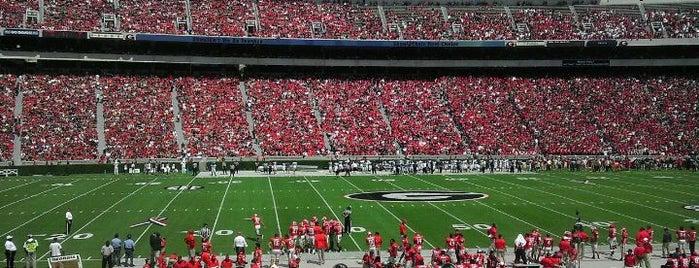 Sanford Stadium is one of SEC Football.