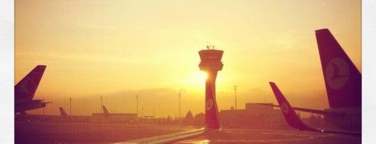 Международный аэропорт им. Ататюрка (ISL) is one of Türkiye'deki Havalimanları.
