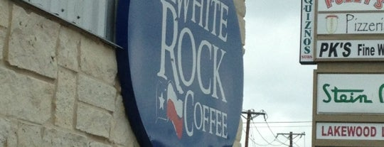 White Rock Coffee is one of Coffee, Coffee, Coffee.