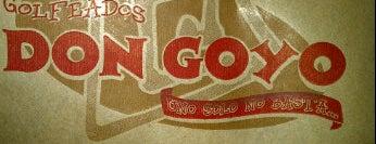 Golfeados Don Goyo is one of 101 comidas en Caracas.