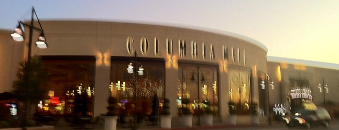Columbia Mall is one of สถานที่ที่ Erica ถูกใจ.