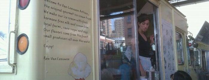 Van Leeuwen Ice Cream Truck is one of nyc trucks.