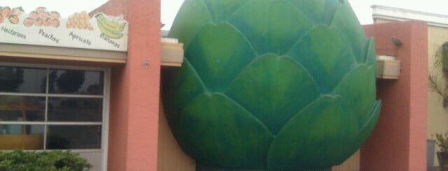 Giant Artichoke Fruits & Veg is one of California Coast.