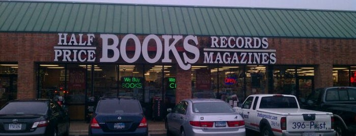 Half Price Books is one of thommendaus.