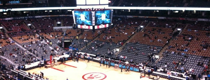 Scotiabank Arena is one of NBA Arena Guide.
