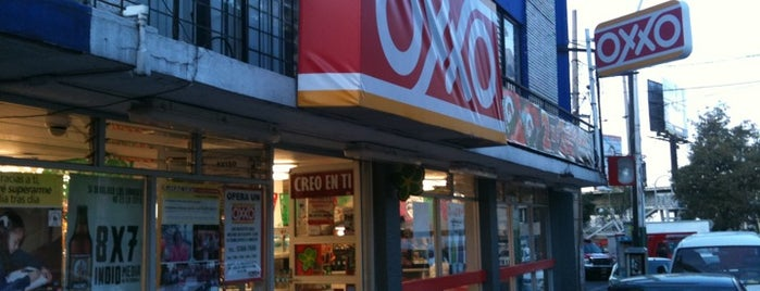 Oxxo is one of René 님이 좋아한 장소.