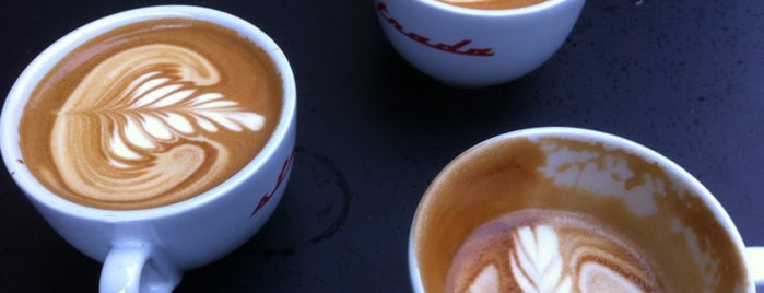 Flat Cap Coffee Co is one of London 2017.