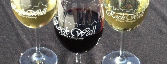 Rock Wall Wine Company is one of East Bay faves.