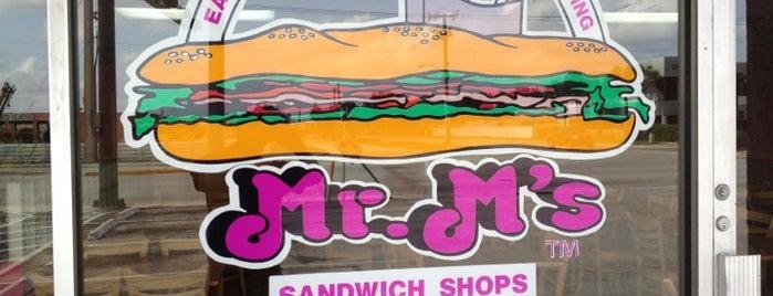 Mr. M's Sandwich Shop is one of David Pulju.