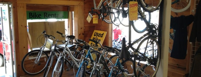 Acadia Bike Rentals is one of Lieux qui ont plu à Carmen.