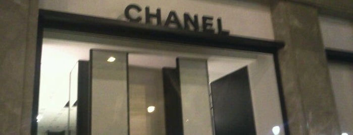 CHANEL Boutique is one of Barcelona shopping.